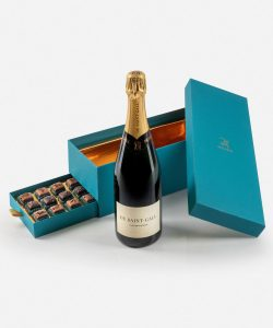 Praline e Champagne De Saint-Gall